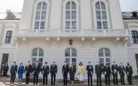 Prezidentka Zuzana Čaputová vymenovala novú vládu, na čele stojí Eduard Heger