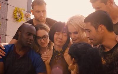Prežijú len spoločne. Tvorcovia v strhujúcom traileri pre sci-fi Sense8 sľubujú dôstojné zakončenie obľúbeného seriálu