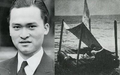 Přežil 133 dní sám uprostřed oceánu, kde pil zvířecí krev a zabil žraloka nádobou na vodu