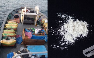 Pri Austrálii stroskotala loď plná kokaínu za 50 miliónov dolárov, ktorá čaká na to, kým ju niekto objaví
