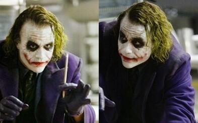Pri Jokerovom triku s ceruzkou mohol prísť kaskadér o oko. Scéna sa podarila nakrútiť až na 22. pokus