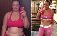 Pri pohľade do zrkadla sa zľakla samej seba. Rebecca preto schudla 45 kíl a pomohli jej v tom len tri veci