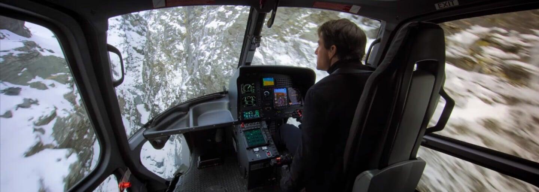 Při pohledu na Toma Cruise v helikoptéře tuhne krev v žilách. Ve videu z natáčení Mission Impossible 6 předvádí šílené a střemhlavé kousky