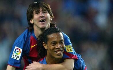 Priateľstvo Ronaldinha a Messiho zachytené v dojemnom a krásnom videu