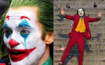 Příběh Jokera odhalí jeho temnou minulost, ale na natáčení vládne zábava a dobrá nálada