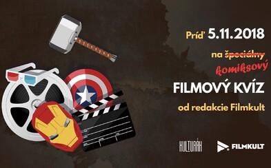 Príďte si otestovať svoje znalosti z komiksových filmov na špeciálny Filmkult kvíz