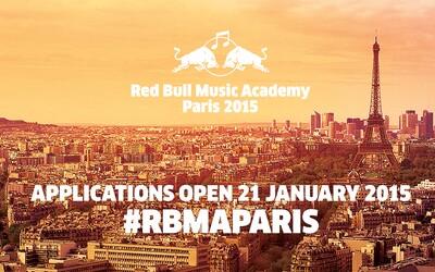 Přihlas se na Red Bull Music Academy Paris 2015 a tvoř hudbu se špičkovými světovými hudebníky