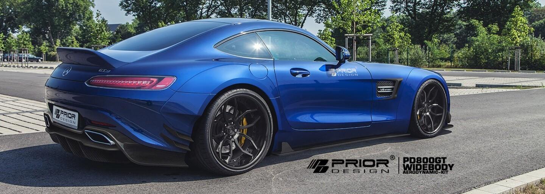 Prior Design patrične rozširuje už aj 510-koňový Mercedes-AMG GT S