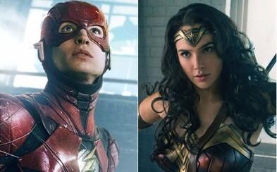 Připojí se Wonder Woman ke snímku Flashpoint, v němž by se kromě Flashe měl objevit i Batman nebo Cyborg?