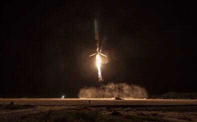 Príprava na Mars pokračuje. SpaceX sa podarilo druhýkrát pristáť s raketou Falcon 9 na pevnine