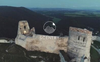 Pripravovali sa od druhej ráno, aby zachytili najkrajší východ slnka nad Čachtickým hradom. Scenery spája hudbu a krásy krajiny