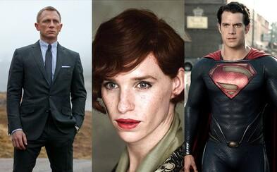 Pripravte sa na nádielku Jamesa Bonda či Supermana. V televízii najbližšie pobeží Skyfall, Man of Steel či oscarová Danish Girl