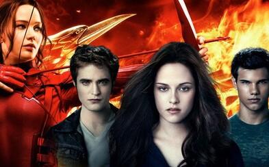 Pripravte sa na návrat Twilightu a Hunger Games! Lionsgate svoje ziskové série nedokázalo ničím nahradiť, a tak pripravuje nové časti