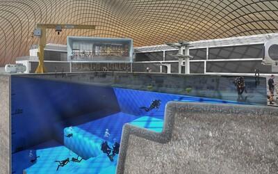 Připravuje se nejhlubší bazén světa, který dokáže simulovat i podmínky vesmírného prostoru