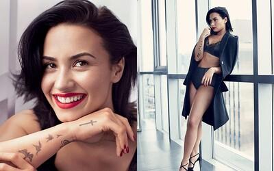 Přirozeně pěkná Demi Lovato se již nebojí odhalit své tělo a skvěle vypadá i na záběrech pro Allure