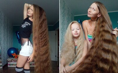 Přitažlivá Ruska si už 14 let nestříhala vlasy. Díky své image připomíná princeznu Rapunzel