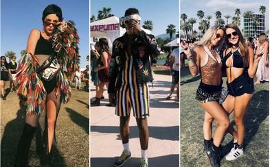 Přitažlivé ženy v zajímavých outfitech? Coachella 2018 přilákala i tisíce módních nadšenců, kteří vědí, jak se obléct na festival