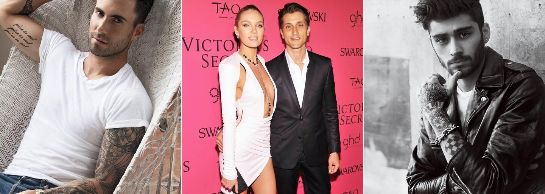 Príťažliví partneri krások z Victoria's Secret: Ktorí fešáci majú doma tie najkrajšie ženy sveta?