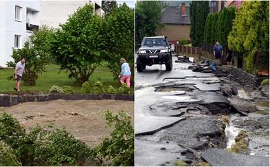 Prívalová voda, ktorá zaplavila celú obec na východe Slovenska, spôsobila len na ceste škody za 500 000 €