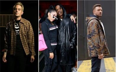 Privítaj chladnejšie dni s outfitmi A$AP Rockyho alebo Justina Timberlakea z dostupnejších kúskov