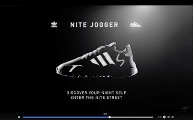 Privítaj tenisky adidas Nite Jogger vo veľkom štýle a objav svoje nočné ja