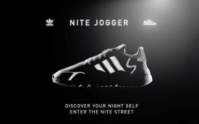 Přivítej tenisky adidas Nite Jogger ve velkém stylu a objev své noční já