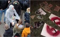 Prívrženci Kotlebovcov v Trnave zbili demonštrantov vrátane predstaviteľov PS/Spolu. Tí na nich podali trestné oznámenie