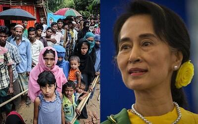 Prizerá sa genocíde, aj keď získala Nobelovu cenu za mier. Mjanmarská líderka kedysi opustila rodinu, aby bojovala za demokraciu