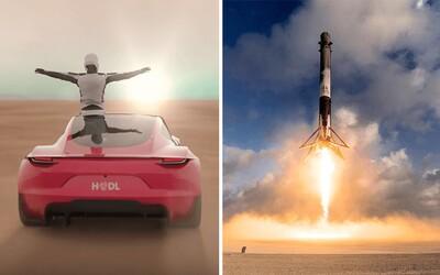 Pro Muska není nic nemožné. Nový Roadster má mít raketové trysky