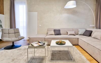 Prohlédni si prostorný penthouse z Bratislavy pro mladou rodinu, který ukrývá soukromou saunu