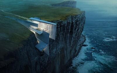 Projekt, ktorý posúva digitálne vizualizácie na nový level alebo The Cliffside Retreat z Islandu