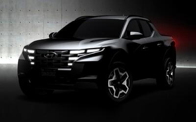 Projekt pikapu od značky Hyundai žije, úplne nové Santa Cruz sa začína rysovať
