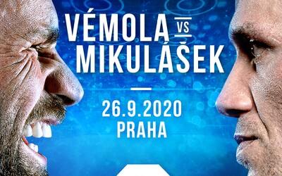 Prosby fanoušků vyslyšeny! Karlos Vémola se pobije se svým rivalem Václavem Mikuláškem