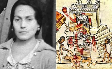 Prostitutka přesvědčila chudé vesničany, že je aztécká bohyně. Při rituálech jim vyrvávala srdce z těla