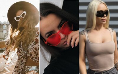 Prozkoumej aktuální trendy slunečních brýlí se známými Češkami a Slovenkami z Instagramu