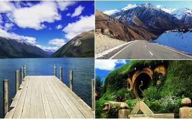Prozkoumej s námi krásy Nového Zélandu, který jsme procestovali a přinášíme ti z něj záběry a zkušenosti