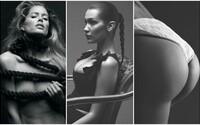 Prsatá Bella Hadid či odhalená potápěčka Irina Shayk zdobí 31. vydání magazínu Double