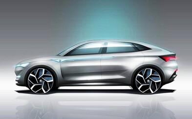 Prvé elektrické a autonómne jazdiace auto od Škody sa začína rysovať. Vision E predznamenáva Kodiaq kupé