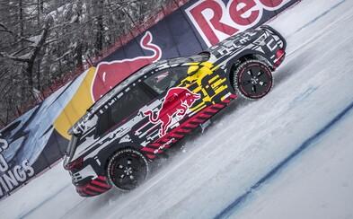 První elektrické Audi pokořilo slavnou lyžařskou sjezdovku
