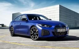 První elektrické BMW M je na světě, má 544 koní a obrovský panel s displeji