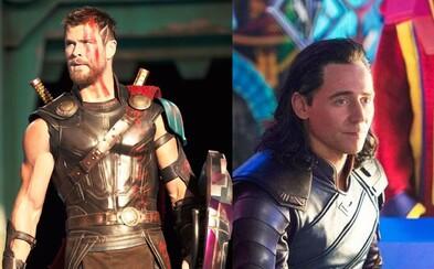 Prvé obrázky z Thora odhaľujú Bruca Bannera, Thora, Asgarďanov, Lokiho a nové postavy