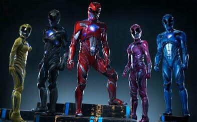 Prvé plagáty predstavujú nových Power Rangers!