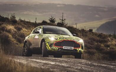 První SUV z dílny Aston Martin klepe na dveře. Jmenuje se DBX a přijde v příštím roce