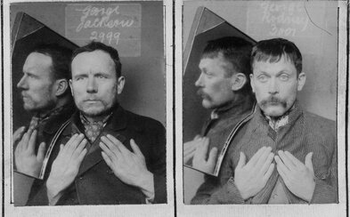 Prvé väzenské fotografie zachytávali nielen tvár, ale aj profil a ruky. Na vtedajších väzňov bolo potrebné dať si pozor