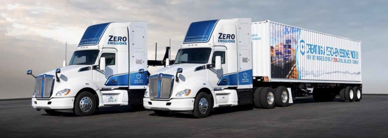 První vodíkové kamiony jsou nasazeny do provozu. V kalifornských přístavech budou sloužit bez emisí