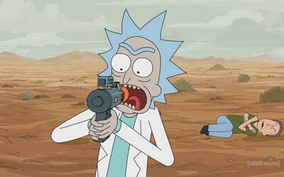 Prvé zábery z 5. série Ricka a Mortyho: Morty má konečne rande s Jessicou a Rickovi sa postaví jeho odveký morský nepriateľ