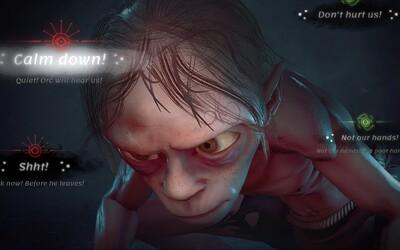 Prvé zábery z Gluma, dobrodružnej hry zo sveta Pána prsteňov pre PS5, Xbox SeX a PC