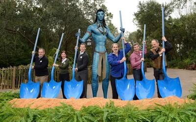 Prvé zábery zábavného parku inšpirovaného Avatarom ukazujú zaujímavé kulisy či známe scenérie