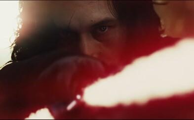 Prvé zábery zo zimomriavkového traileru pre Star Wars: The Last Jedi sa nesú v znamení ohlučujúcich vesmírnych súbojov a stretov svetelných mečov