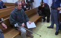 První český terorista je venku z vězení. Balda dostal pětiletou podmínku